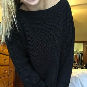 French Connection Cable Knit Sweater